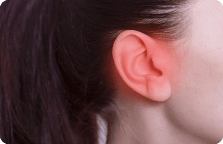 外耳道炎の症状と原因は?